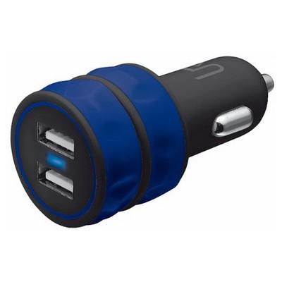 Trust Urbanrevolt 20156 Araç Tipi İkili Şarj Cihazı-Mavi Şarj Cihazları