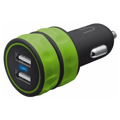 Trust 20158 Araç Tipi İkili Şarj Cihazı-Yeşil Şarj Cihazları
