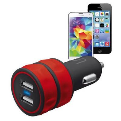 Trust Urban 20157 Araç Tipi Ikili Sarj Cihazı-kırmızı Şarj Cihazları