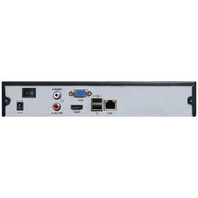Prolook Pr-2504-np 4 Kanal Özellikli, 30fps, 25mps Band Genişliği, ,1 Sata 4tb Destekli Nvr Güvenlik Kayıt Cihazı