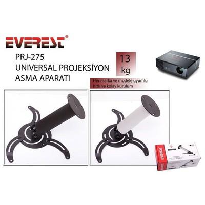 Everest PRJ-275 20CM 360-45DERECE 13KG Siyah PROJE Projeksiyon Aksesuarı