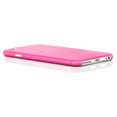 Microsonic Ultra Thin 0.2mm Iphone 6 Plus (5.5'') Kılıf Pembe Cep Telefonu Kılıfı