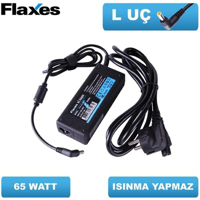 Flaxes FNA-HP185 HP 18.5V 3.5A 65W UÇLAR:4.8*1.7 Muadil Notebook Adaptör Laptop Şarj Aleti