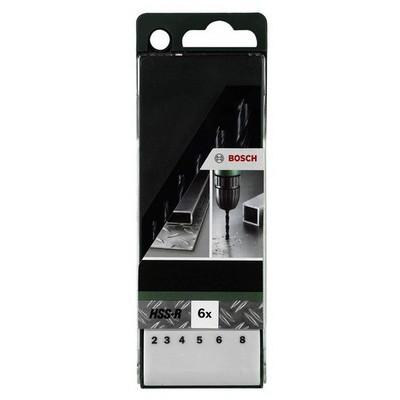 Bosch DIY HSS-R Metal Matkap Ucu Seti 6lı Metal Matkap Ucu - 26092