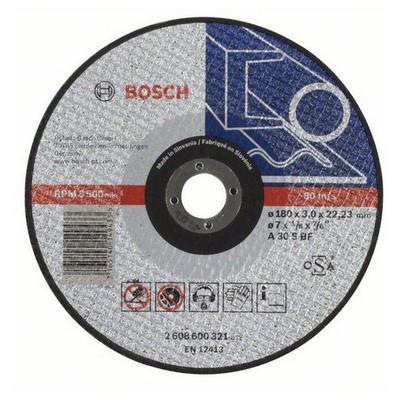 Bosch 180*3,0 mm Expert for Metal Düz Aşındırıcı Disk - 2608600321