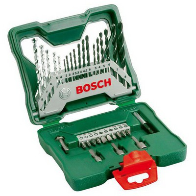 Bosch X-Line 30 Parça Titanyum Aksesuar Seti Makine Aksesuarı