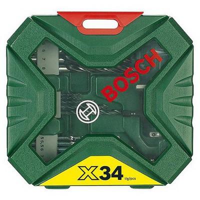 Bosch X-Line 34 Parça Aksesuar Set  - 2607010608