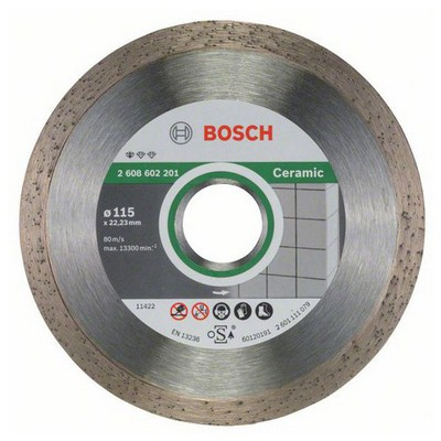 Bosch Standard for Ceramic 115 mm Elmas Kesme Diski - 2608602201