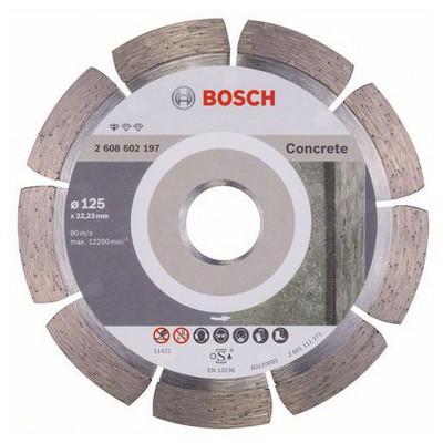 Bosch Standard Seri Beton İçin Elmas Kesme Diski - 125 X 22,23 X 1,6 X 10 Mm Makine Aksesuarı
