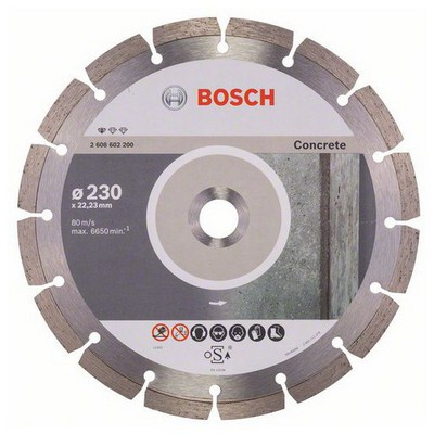 Bosch Standard for CONCRETE 230 mm Elmas Kesme Diski - 2608602200