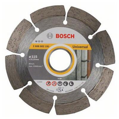 Bosch Expert Serisi Tüm Malzemeler İçin Elmas Kesme Diski - 115 X 22,23 X 1,6 X 10 Mm Makine Aksesuarı