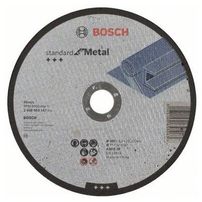 Bosch 180*3,0 mm Standard for Metal Düz Aşındırıcı Disk - 26086031