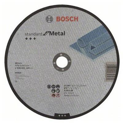 Bosch 230*3,0 mm Standard for Metal Düz Aşındırıcı Disk - 26086031