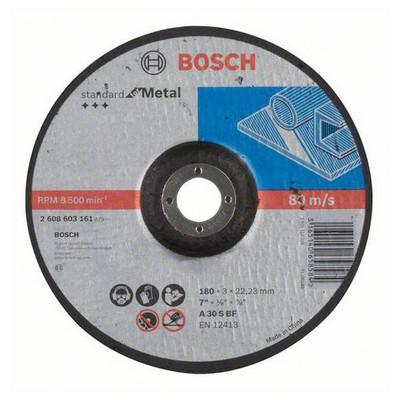 Bosch 180*3,0 mm Standard for Metal Bombeli Aşındırıcı Disk - 2608