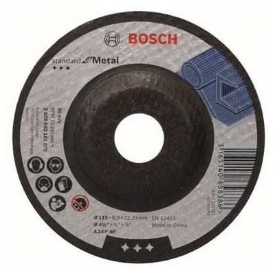 Bosch 115*6,0 mm Standard for Metal Aşındırıcı Disk - 2608603181