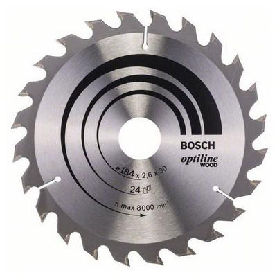 Bosch Optiline Wood 184*30 mm 24 Diş Daire Testere Bıçağı - 260864
