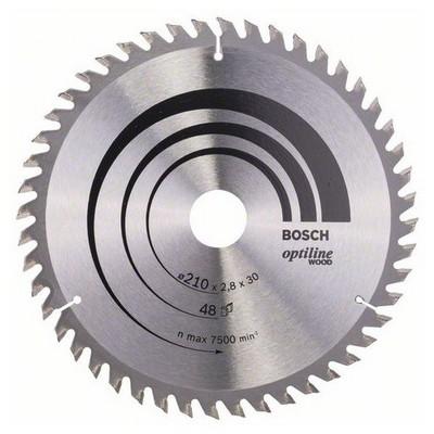 Bosch Optiline Wood 210*30 mm 48 Diş Daire Testere Bıçağı - 260864