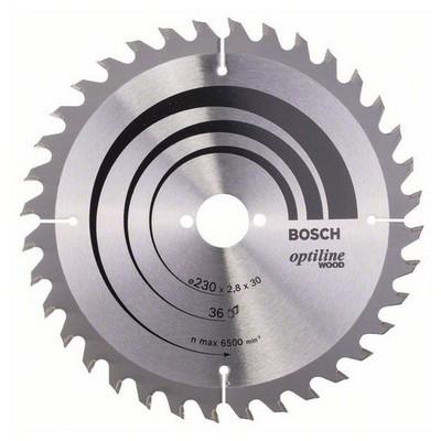 Bosch Optiline Wood 230*30 mm 36 Diş Daire Testere Bıçağı - 260864