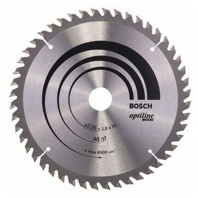 Bosch Optiline Wood 235*30/25 48 Diş Daire Testere Bıçağı - 260864