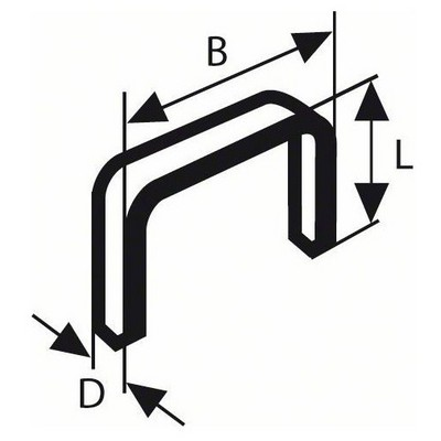 Bosch Zımba Teli Tip 53 11,4*0,74*12 mm - 1609200367