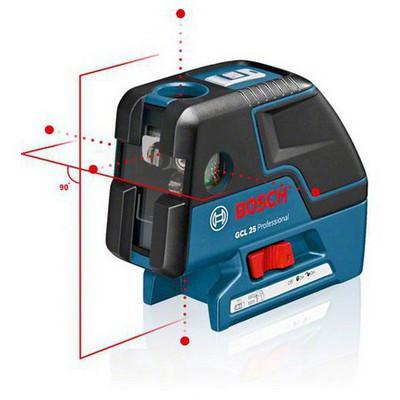 Bosch GCL 25 + BT 150 Tripod Çapraz Çizgi & 5 Noktalı Noktasal Hiz