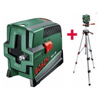 Bosch PCL 20 Set Çapraz Çizgili Hizalama Lazeri Lazerli Hizalama