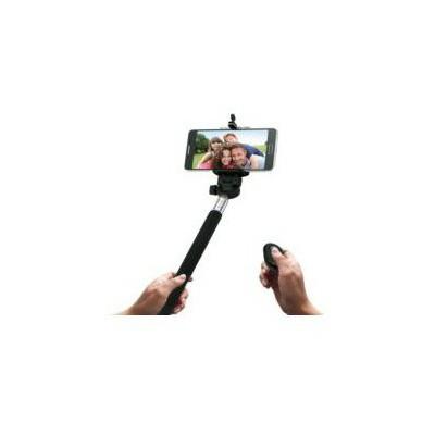 Codegen Ssb-09b Bluetooth Bağlantılı Uzaktan Kumandalı Siyah Selfie Çubuğu Cep Telefonu Aksesuarı