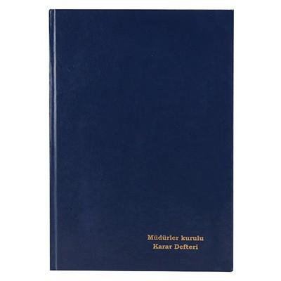 Dilman Müdürler Kurulu Karar Defteri 96 Yaprak Ciltli Resmi Evrak