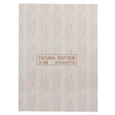 Dilman Fatura Defteri Otokopili 3 Nüshalı No. 3 (19.3 X 26.50 Cm) Resmi Evrak