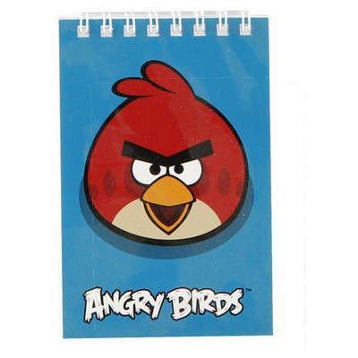 Keskin Color Angry Birds A7 42 Yp. Spiralli Bloknot Defter