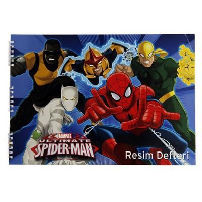 Keskin Color Spider Amazing 25x35 Cm 15 Yaprak Resim i Defter