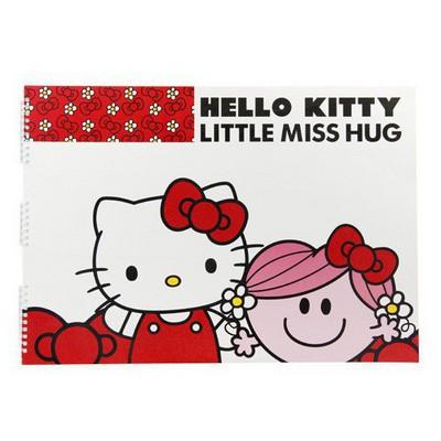 Keskin Color Hello Kitty 17x25 15 Yaprak Spiralli Resim i Defter