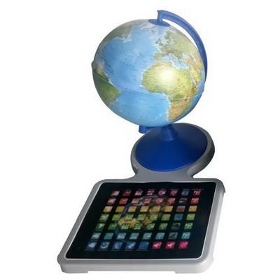 Gurbuz Yayınları Işıksız Konuşan Fiziki Küre 20 Cm Eğitim Gereci