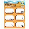 Crea Tiket Creatiket 1018 Dünyanı Yedi Harikası Serisi Okul Etiketi Okul Etiketleri