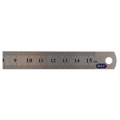 MAS 2328 15cm Çelik Cetvel
