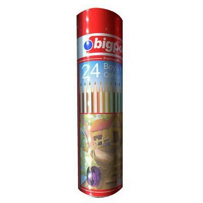 Bigpoint Boya Kalemi 24 Renk Metal Tüp Resim Malzemeleri