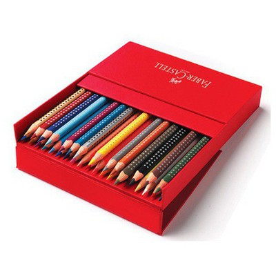 Faber Castell Grip 2001 Kuru Boya Kalemi 36'lı Studio Box Resim Malzemeleri