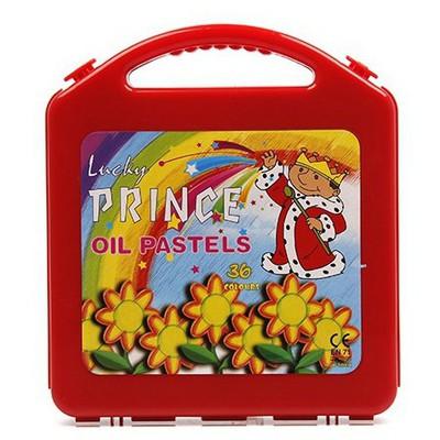 Lucky Prince Çantalı Pastel Boya Seti 36'lı Resim Malzemeleri
