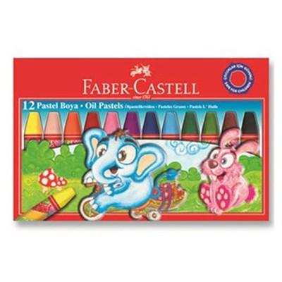 Faber Castell Redline Karton Kutu Pastel Boya 12 Renk Resim Malzemeleri