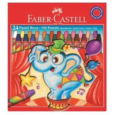 Faber Castell Redline Karton Kutu Pastel Boya 24 Renk