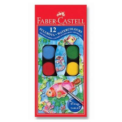 Faber Castell Redline Sulu Boya 12 Renk Büyük Boy Resim Malzemeleri