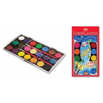 Faber Castell Redline Suluboya 21 Renk Büyük Boy Resim Malzemeleri