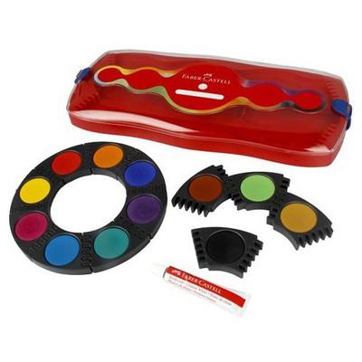 Faber Castell Suluboya Değişebilir Tablet 12 Renk Resim Malzemeleri