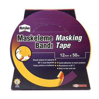 Metylan Maskeleme Bandı Standart 12 Mm X 50 M Paketleme Malzemesi