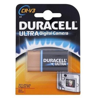 Duracell Ultra 0 (CR-V3) 3 Volt Lityum 0 2'li Pil / Şarj Cihazı