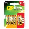 AAA İnce Kalem Pil Ultra Alkalin (4+2) 6 Adet Mode