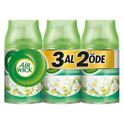 Air Wick Oda Kokusu Sprey Bahar Çiçekleri 3 Al 2 Öde Koku & Aparat