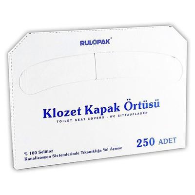 Rulopak 20 Paket 1 Koli Model R-2613 Klozet Kapak Örtüsü