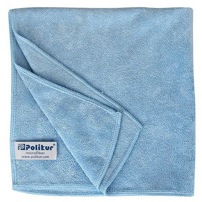 Polikur Mikrofiber Bez 40 cm - Mavi Bez / Sünger