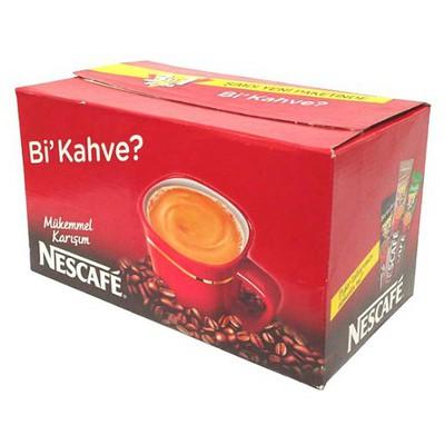 Nescafe 3'ü 1 Arada Hazır  72 Adet Kahve